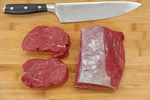 Greenlea - Beef Eye Fillet (Tenderloin) - Sliced & Packed