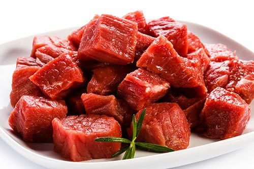 Diced Prime Beef Steak