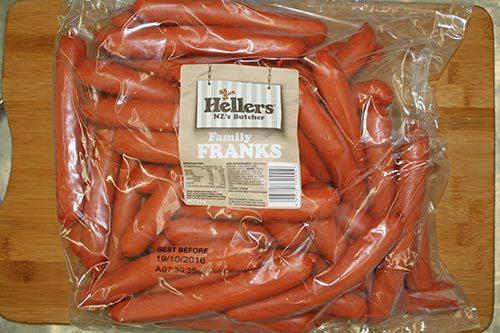 Hellers - Family Franks - 3kg
