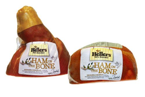 Hellers - Half COB Cooked Ham on the Bone
