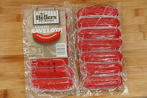 Hellers - Saveloys (Polonies) - 500g