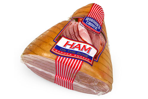 Hobson's Choice - Cooked Half Ham on the Bone - Fixed weight