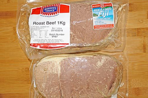 Hobson's Choice - Roast Beef - 1kg