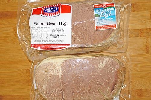 Hobson's Choice - Roast Beef - 1kg