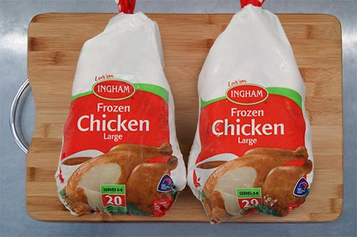 Ingham's - Frozen Chicken - Size 20