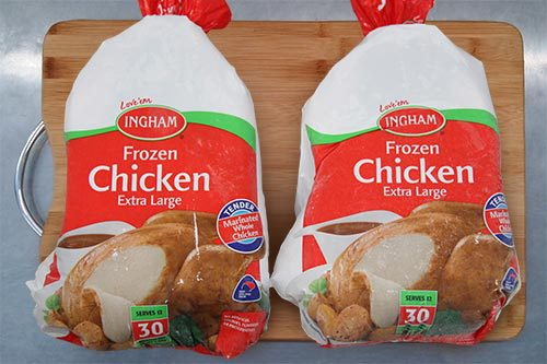 Ingham's - Frozen Chicken - Size 30
