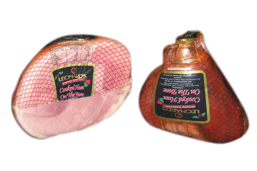 Leonards - Cooked Half Ham on the Bone