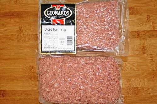 Leonards - Diced Ham - 1kg
