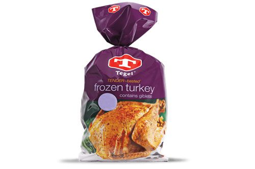 Tegel - Whole Frozen Turkey - 5.5kg