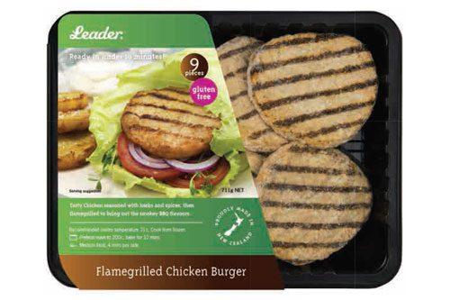 Leader - Flamegrilled Chicken Burger