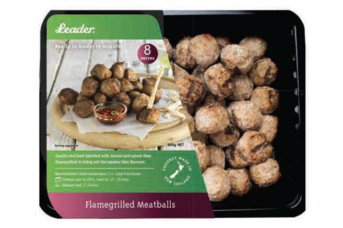 Leader - Flamegrilled Meatballs